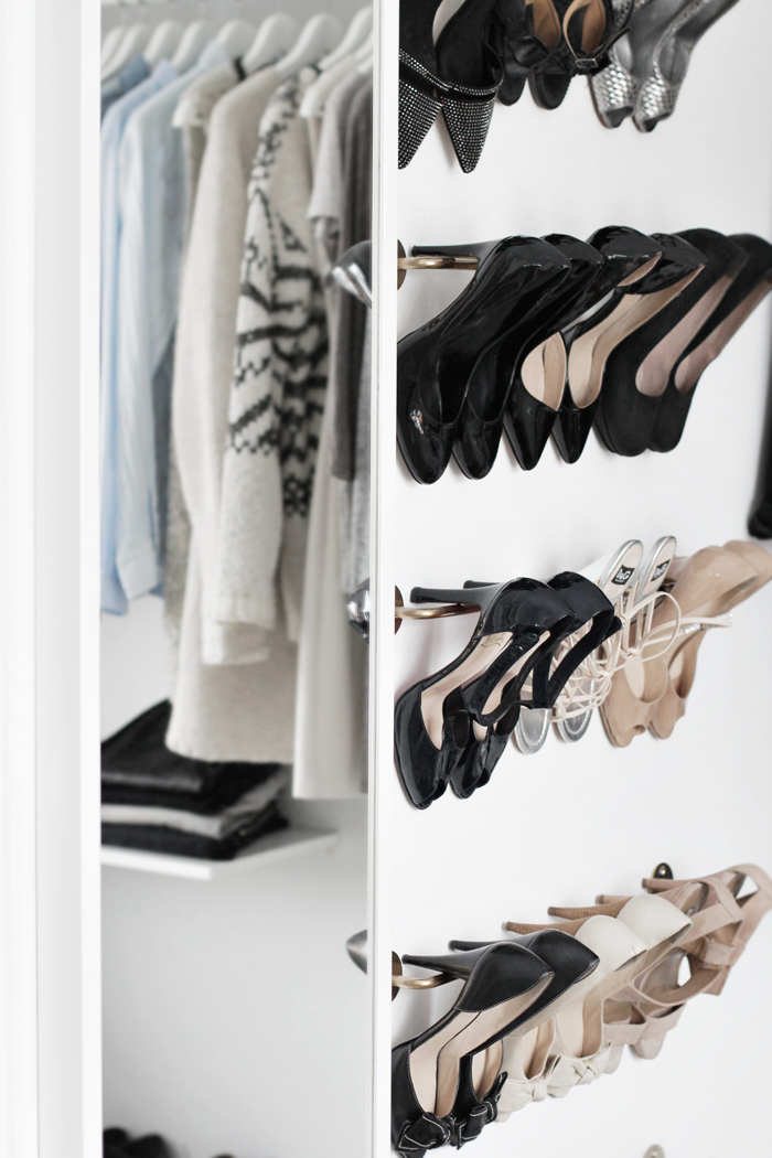 Get organized stylizimo blog for Walk in shoe closet