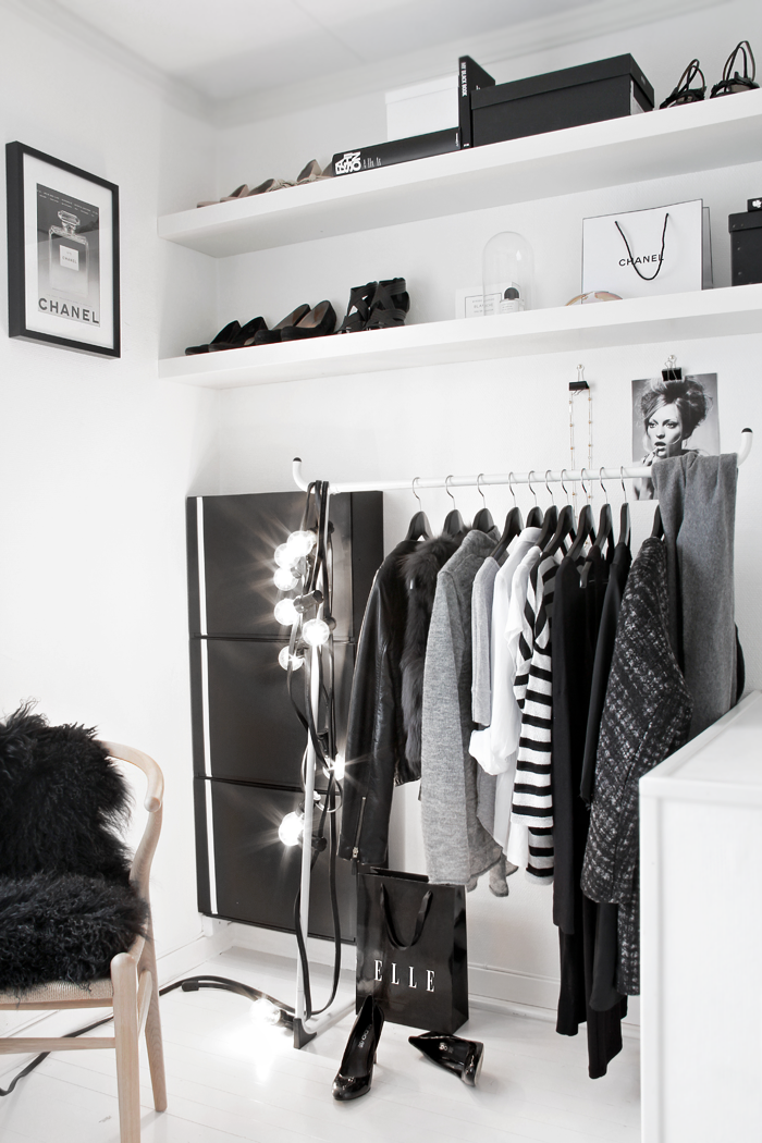 walk in closet stylizimo. Black Bedroom Furniture Sets. Home Design Ideas