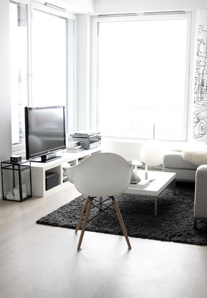 A lovely home in finland stylizimo - Living room corner decor ...