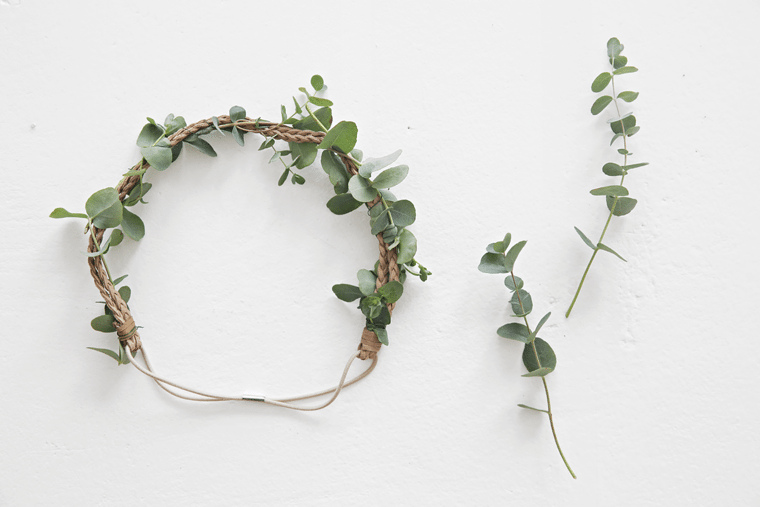 DIY_flower wreath midsummer