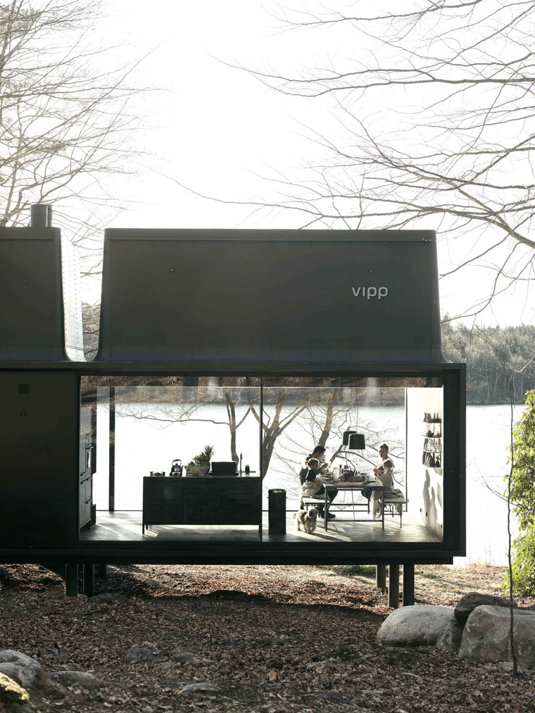Vipp shelter outside