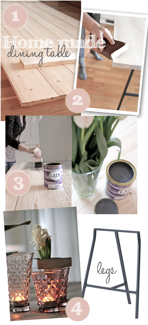 Diy: new trendy dining table in 1 2 3!   stylizimo