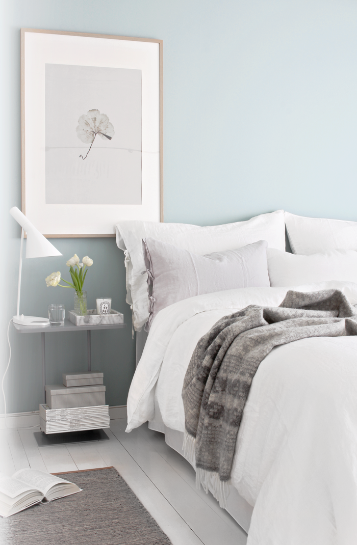 teal in the bedroom  stylizimo