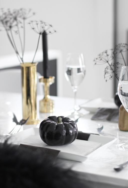Halloween – table setting