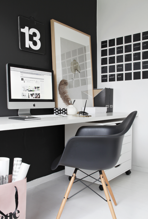 The black office