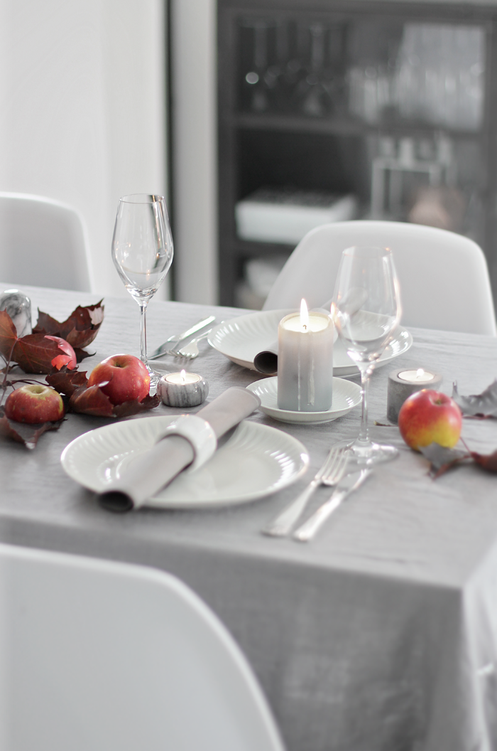Tablesetting fall