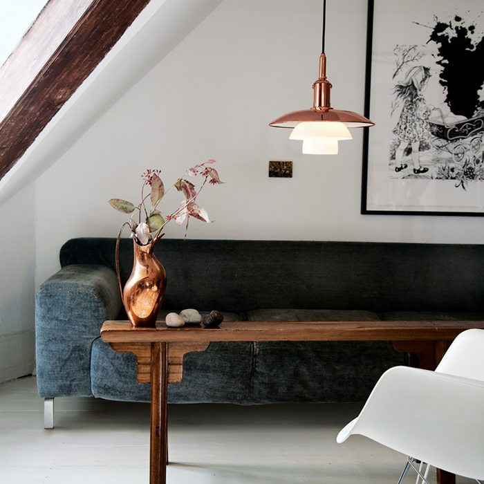 Tidsmæssigt LIMITED EDITION PH 3 ½-3 COPPER | Stylizimo QQ-82