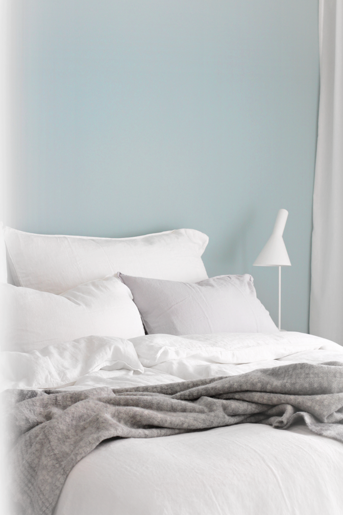 Linen bedding_white