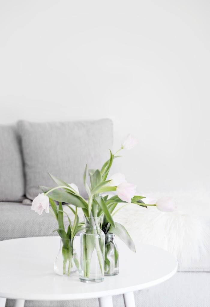Hanging tulips