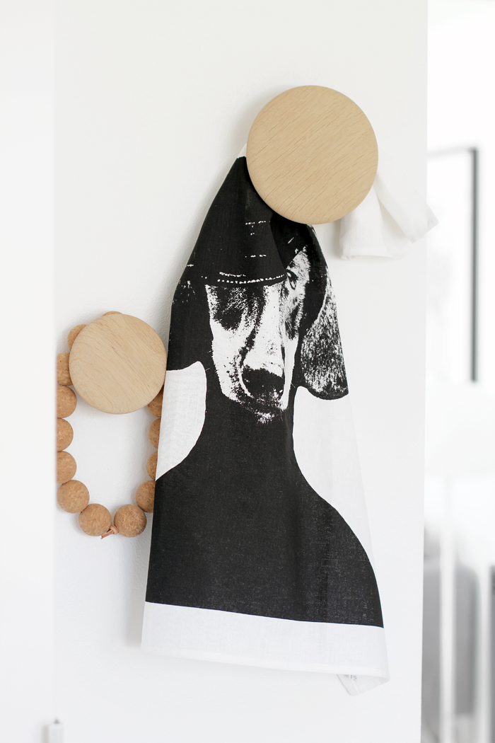 Dog teatowel