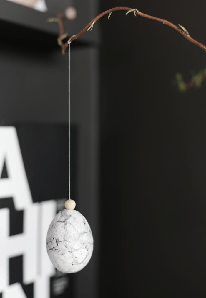 DIY Marble egg