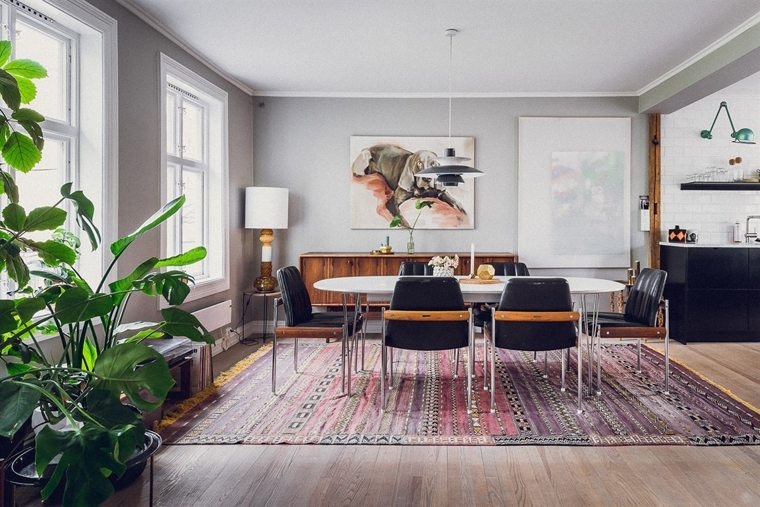Inspiring apartment in Oslo