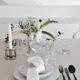 Table setting  – birthday dinner!