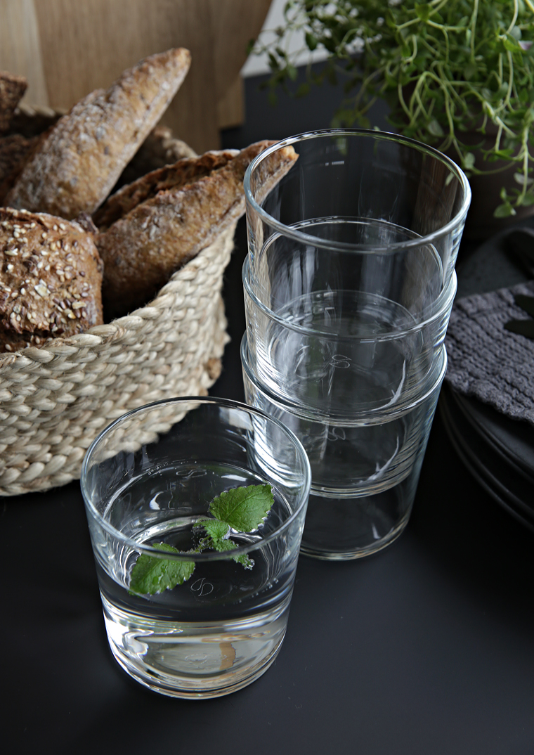 Budget tip - drinking glasses