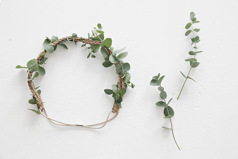 DIY_flower wreath midsummer