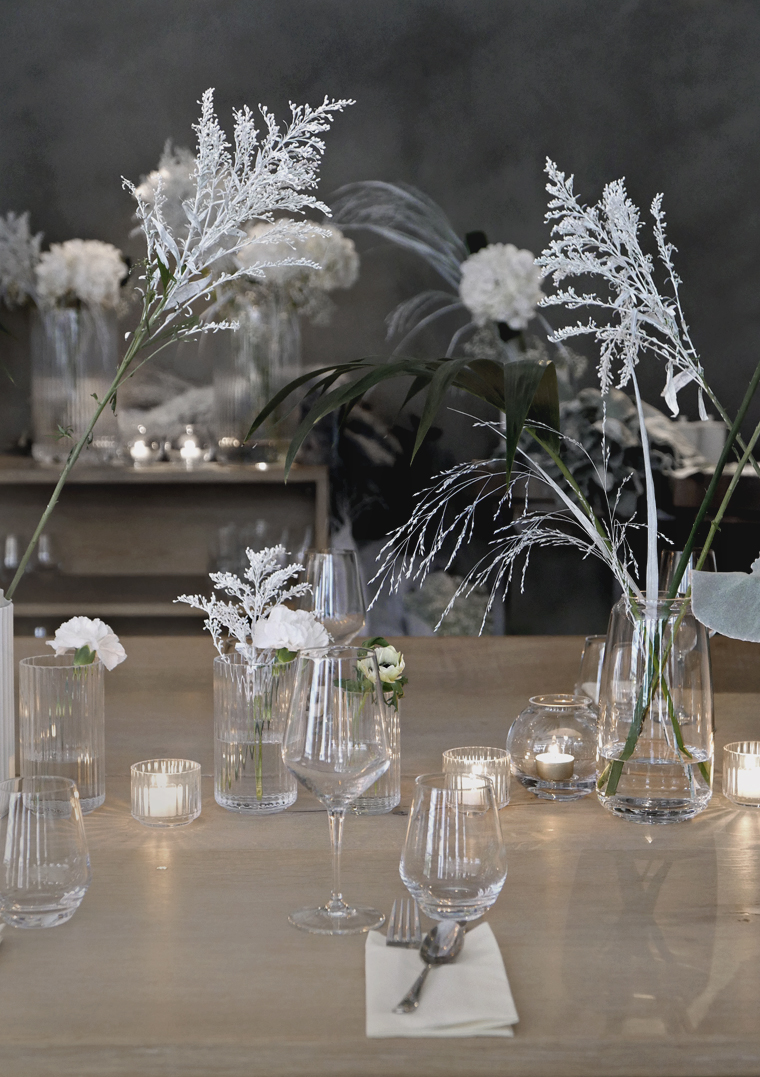 Magical table setting -  Lyngby Porcelain dinner