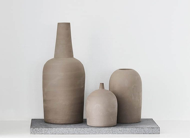 Dome vases Kristina Dam