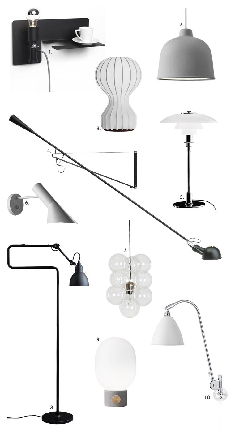10 lampefavoritter