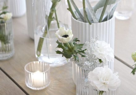 Magical table setting –  Lyngby Porcelain dinner
