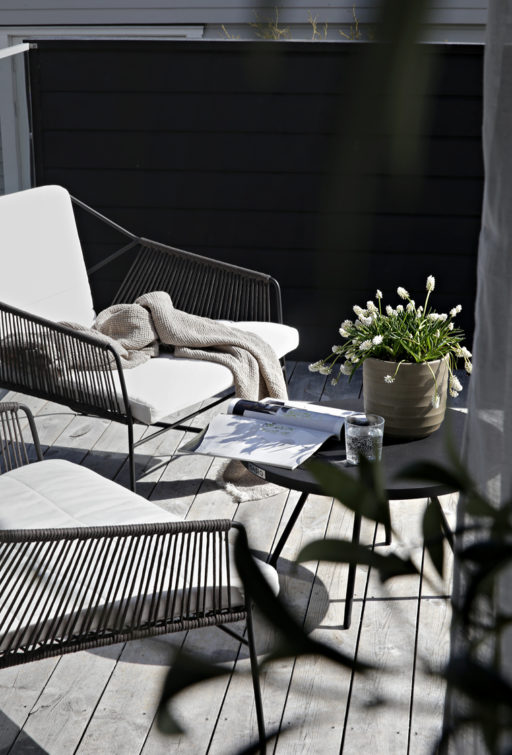 Getting the terrace ready for summer