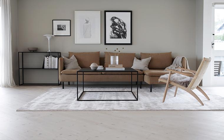 Utestående Et teppe forandrer rommet | Stylizimo UR-64
