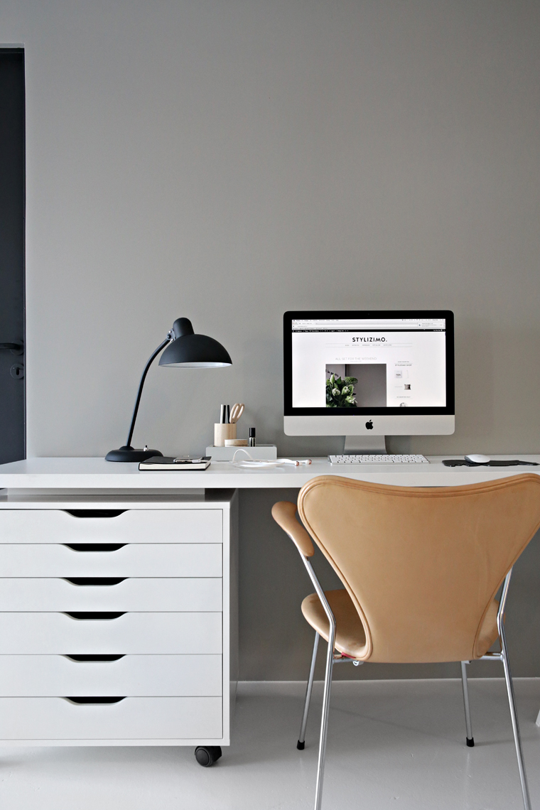 Grey office
