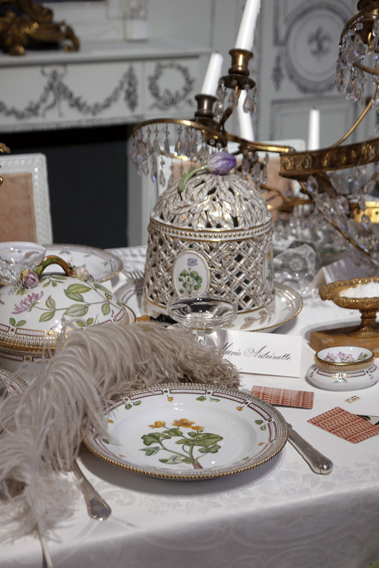Royal Copenhagen Christmas tables