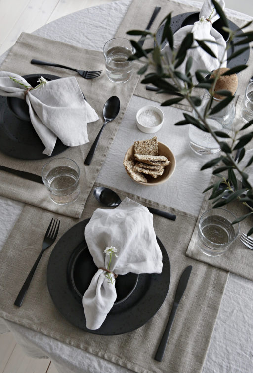 Spring table setting with Himla – Win a gift card