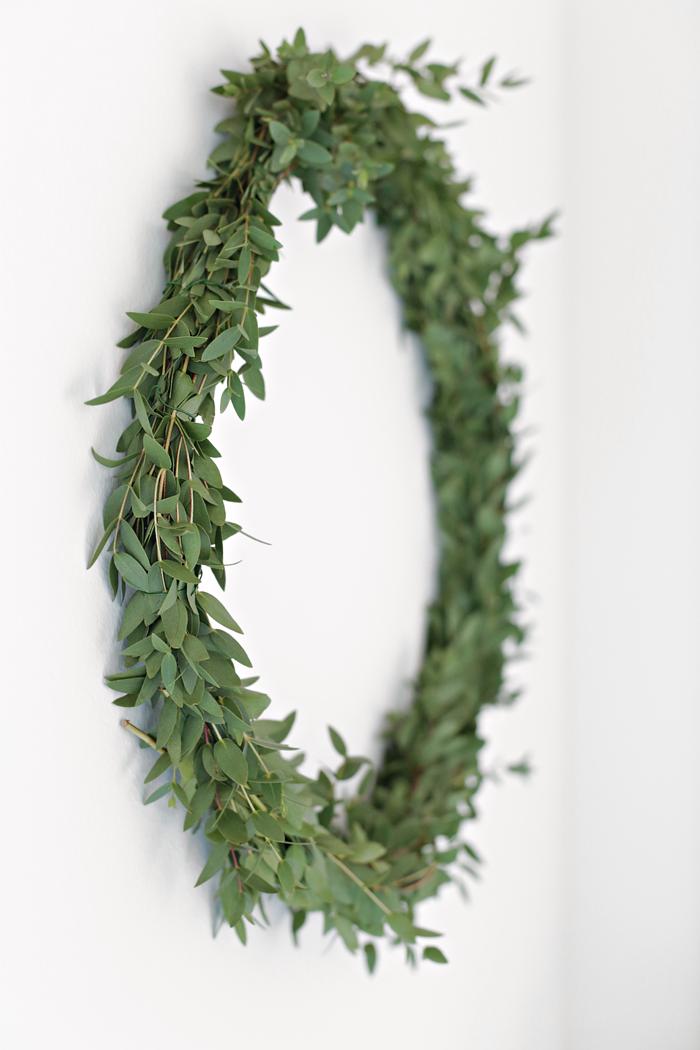 Christmas wreath_DIY