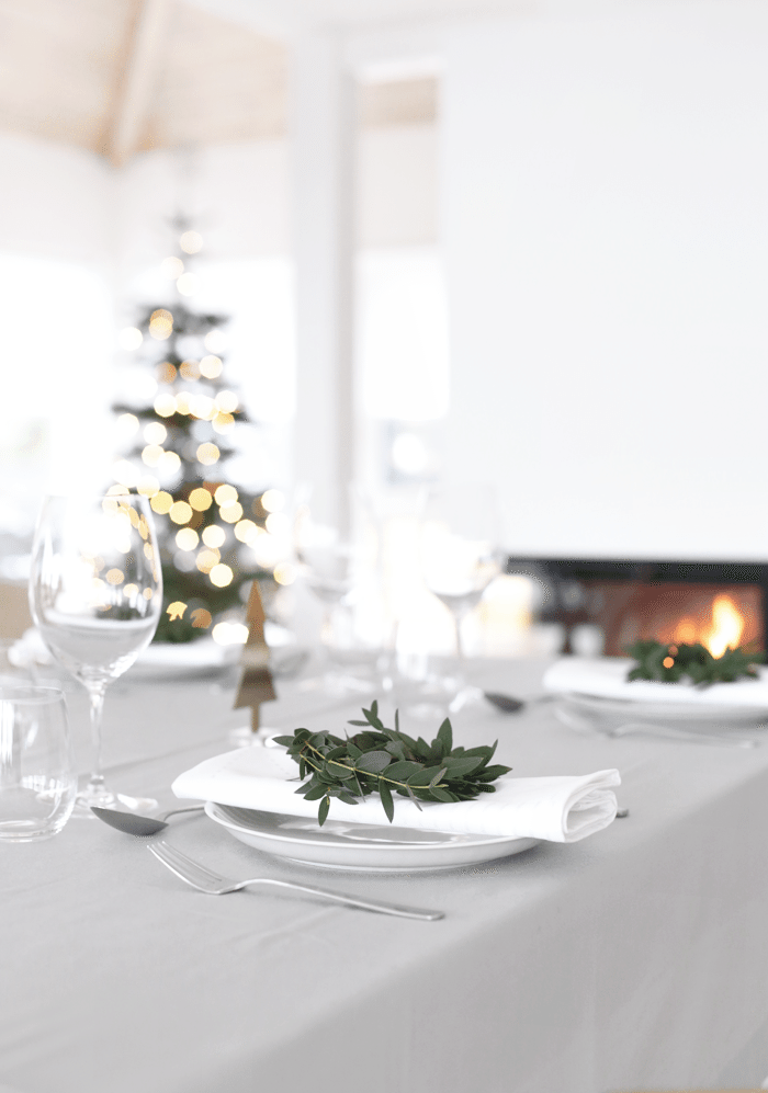 Table setting_Christmas