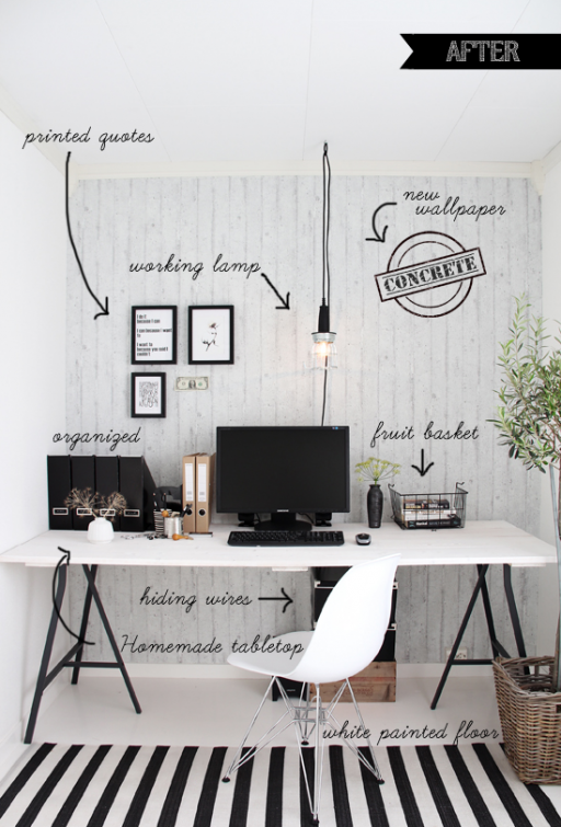 Before & After – home office