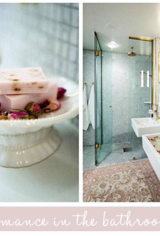 A romantic bathroom
