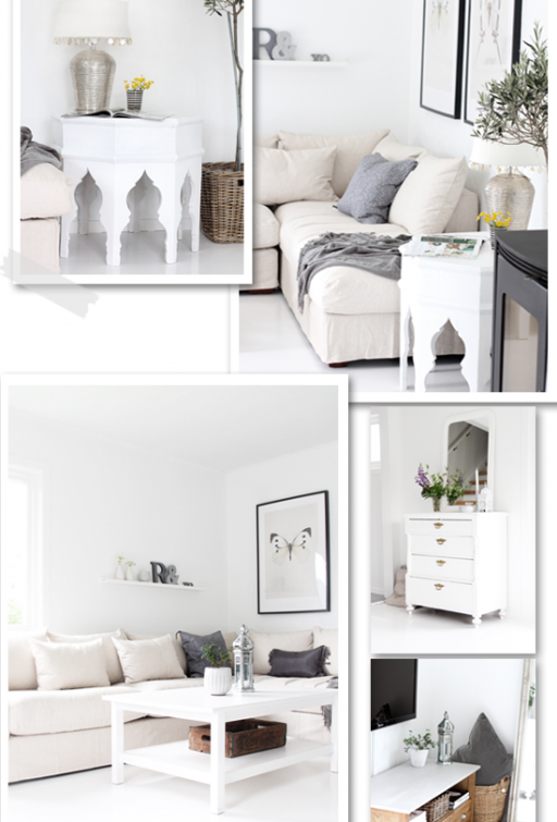 Before & After – Living room