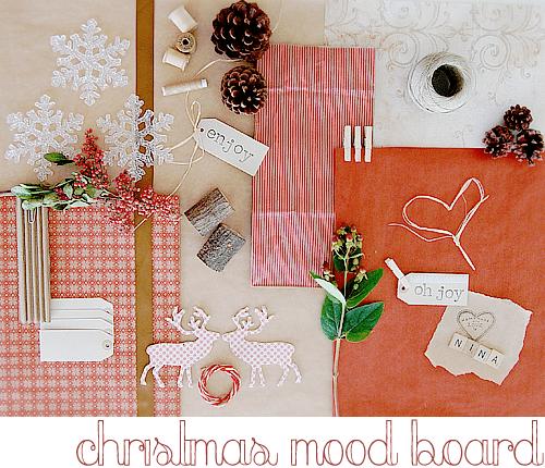 Christmas Mood Board Stylizimo