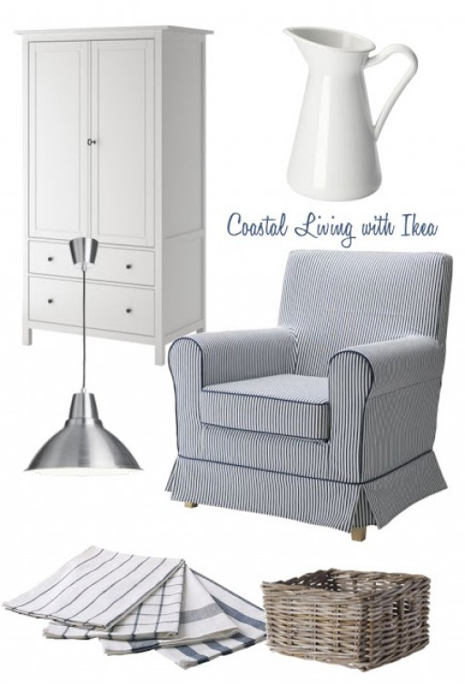 COSTAL LIVING WITH IKEA