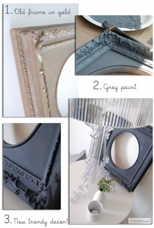 DIY: How to make a trendy frame!