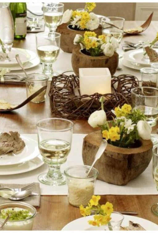 A lovely Easter table