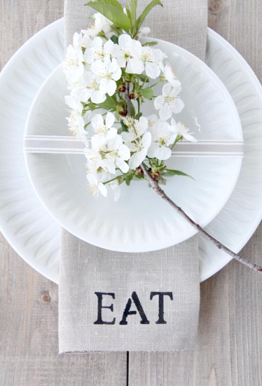 DIY: Homemade napkins