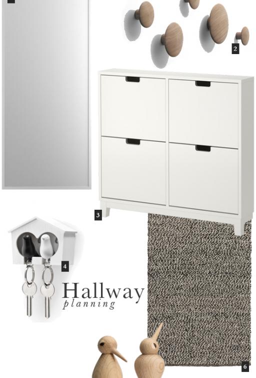 Hallway // Inspiration board