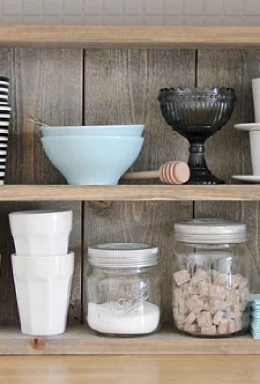 One shelf, two looks!