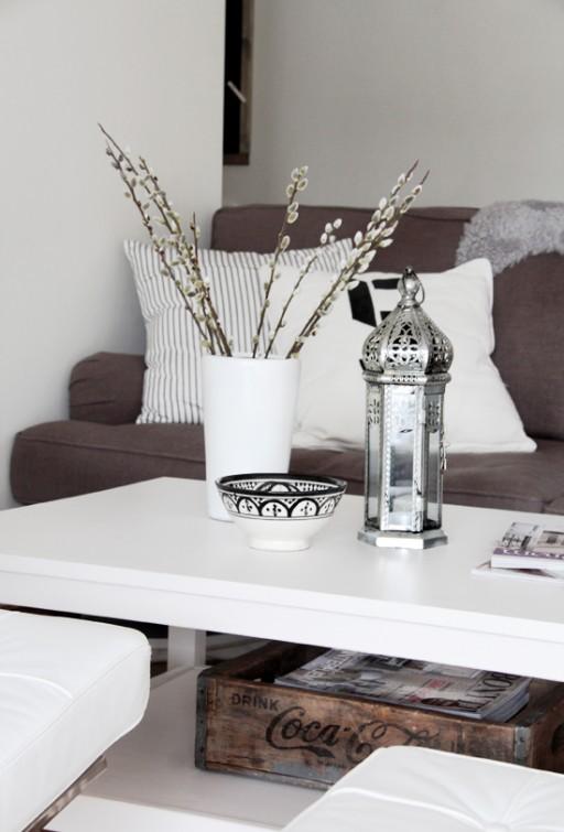 One living room – 3 looks