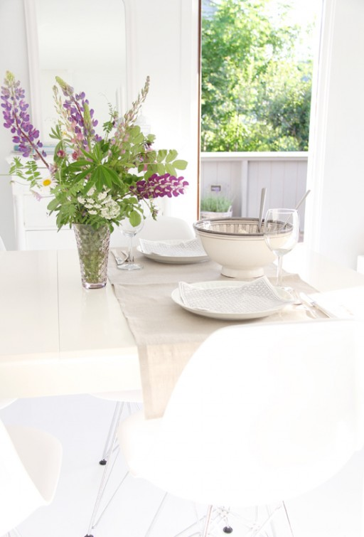 Table setting: Summer delights!