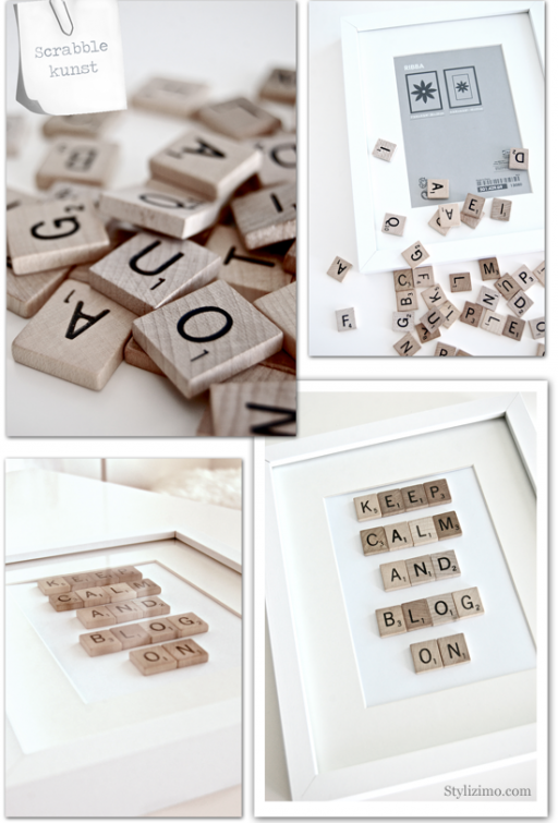DIY: MAKE YOUR OWN SCRABBLE PICTURE