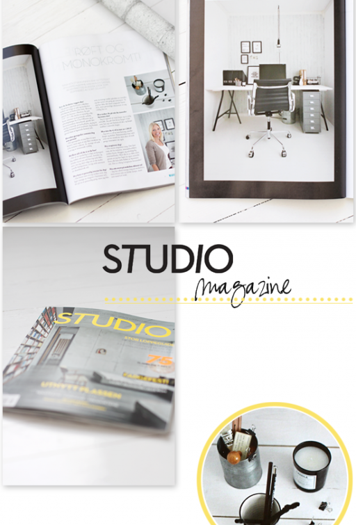 Featured in STUDIO Magazine!