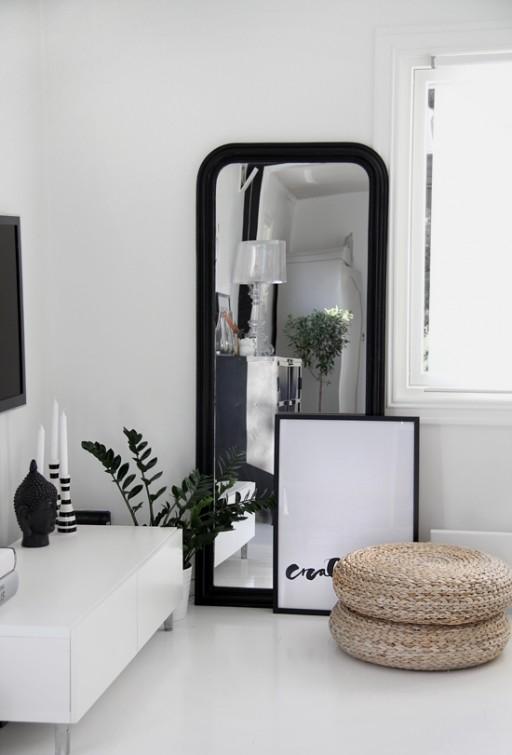 Black & White TV corner