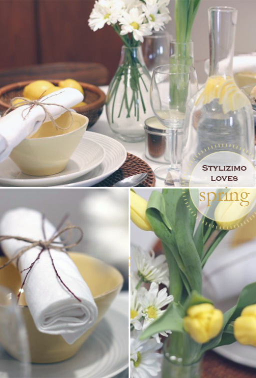 Stylizimo loves: Spring table setting
