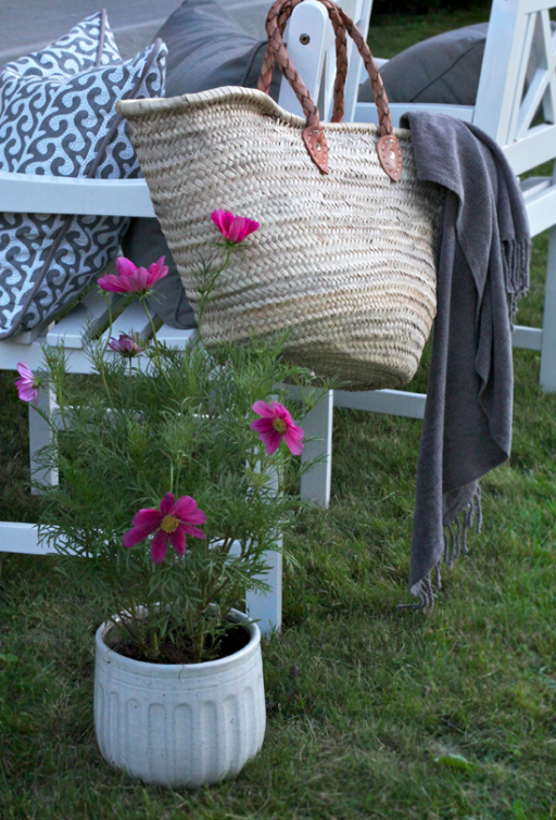 3 tips for a cosy evening in the garden!