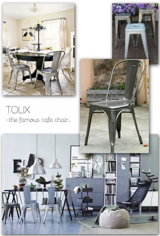 TOLIX – THE FAMOUS CAFE CHAIR