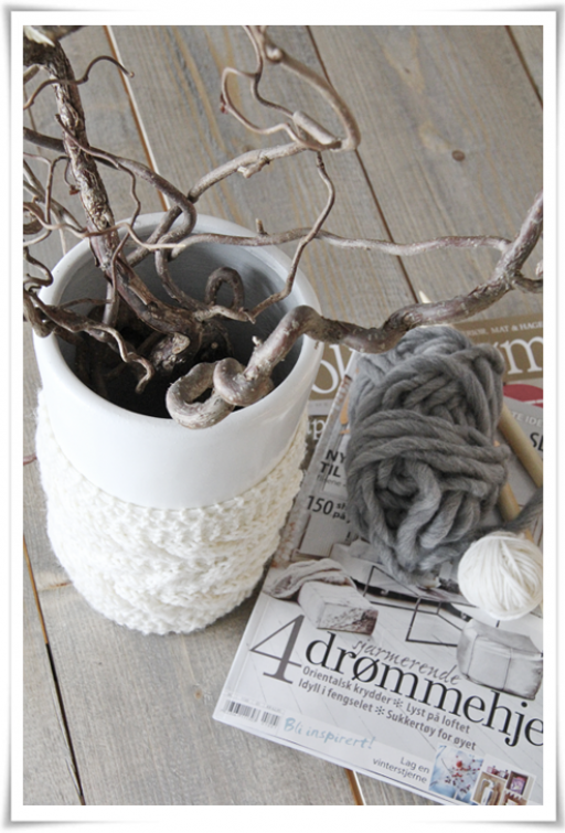 3 ways to decorate with knitting