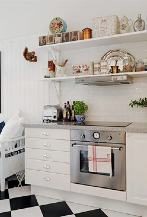 A romantic kitchen